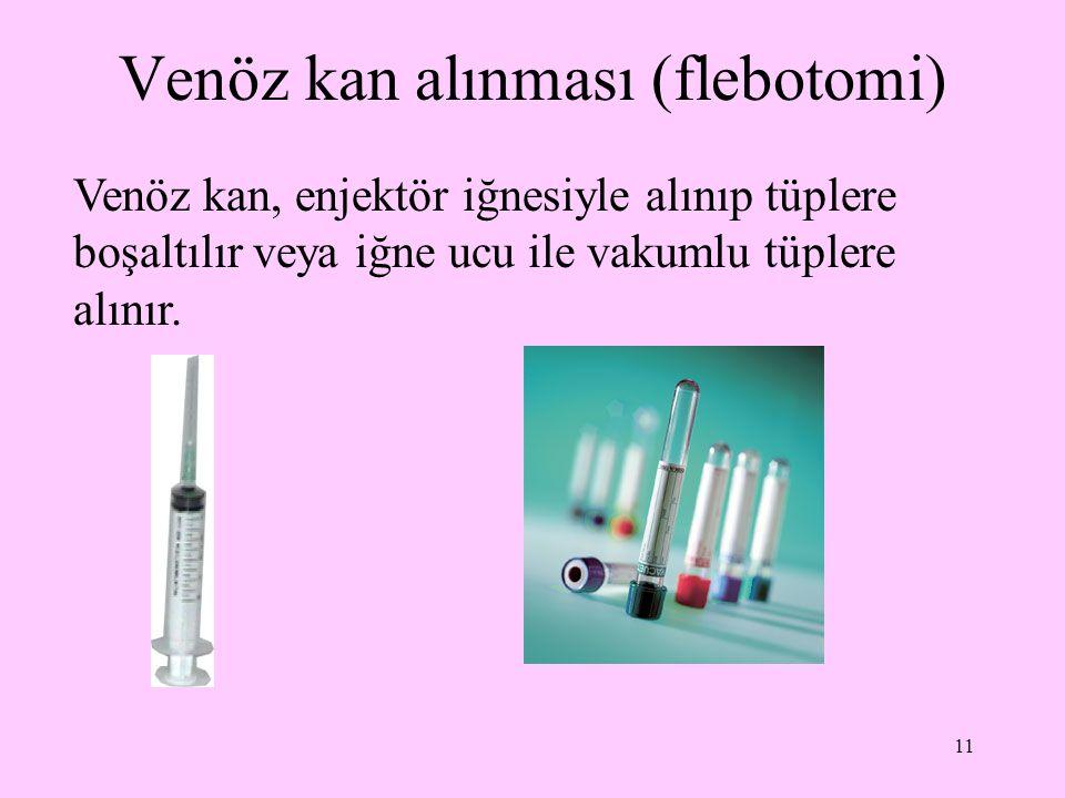 Venöz kan alınması (flebotomi)