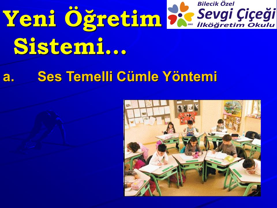 Yeni Öğretim Sistemi… Ses Temelli Cümle Yöntemi