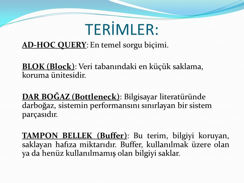 TERİMLER: