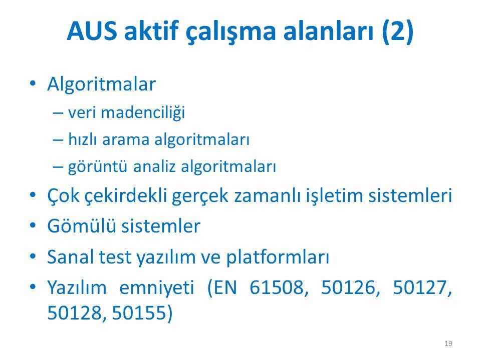 AUS aktif çalışma alanları (2)