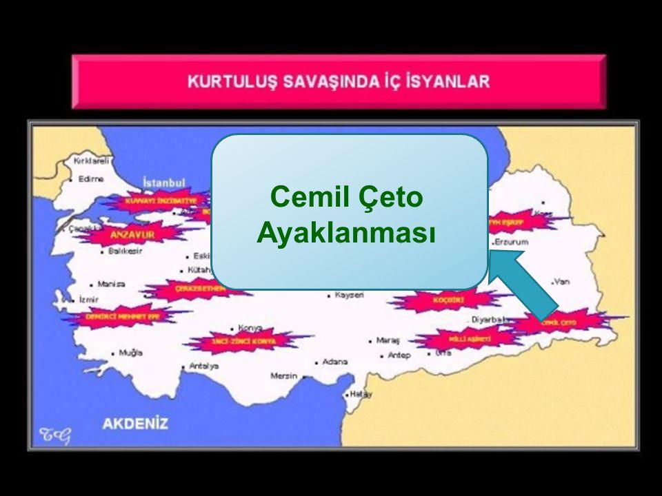 Cemil Çeto Ayaklanması