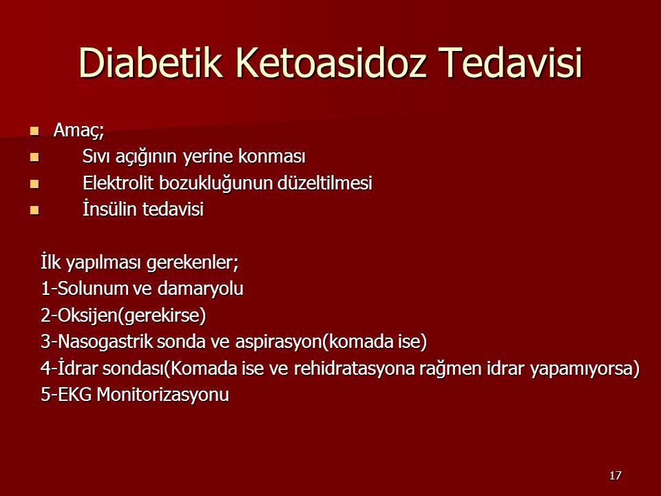 Diabetik Ketoasidoz Tedavisi