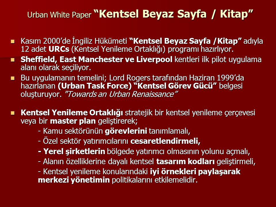 Urban White Paper Kentsel Beyaz Sayfa / Kitap