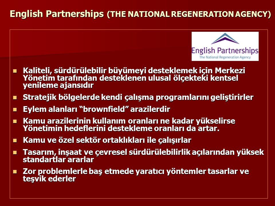 English Partnerships (THE NATIONAL REGENERATION AGENCY)