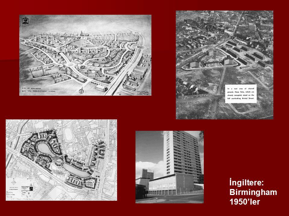 İngiltere: Birmingham 1950'ler