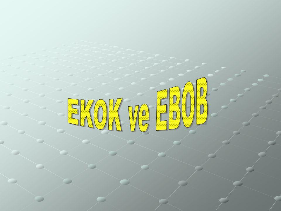 EKOK ve EBOB