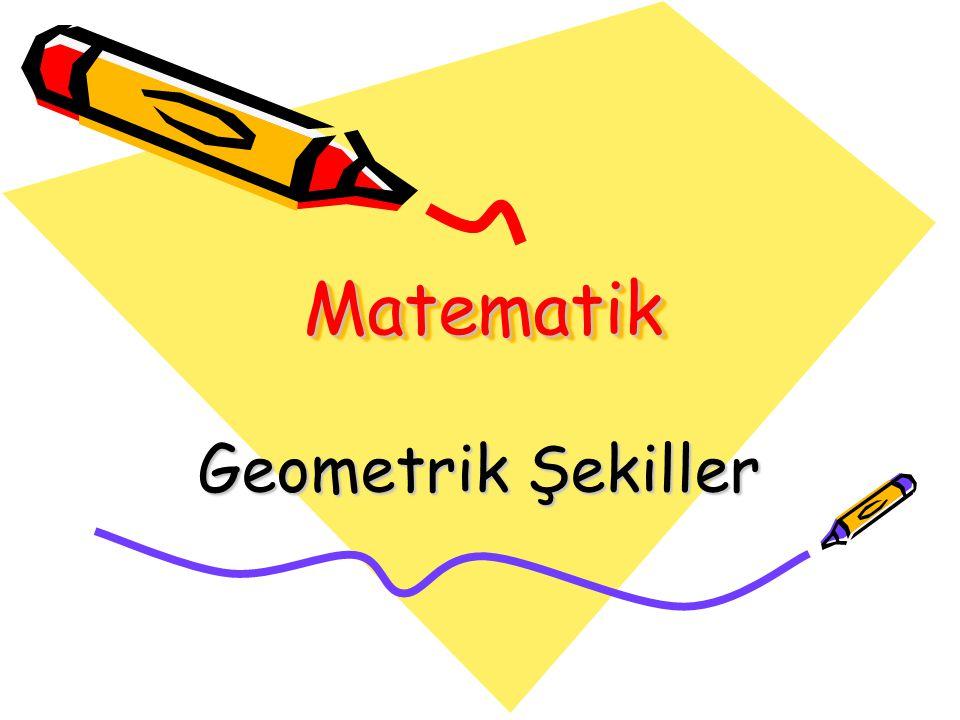 Matematik Geometrik Şekiller