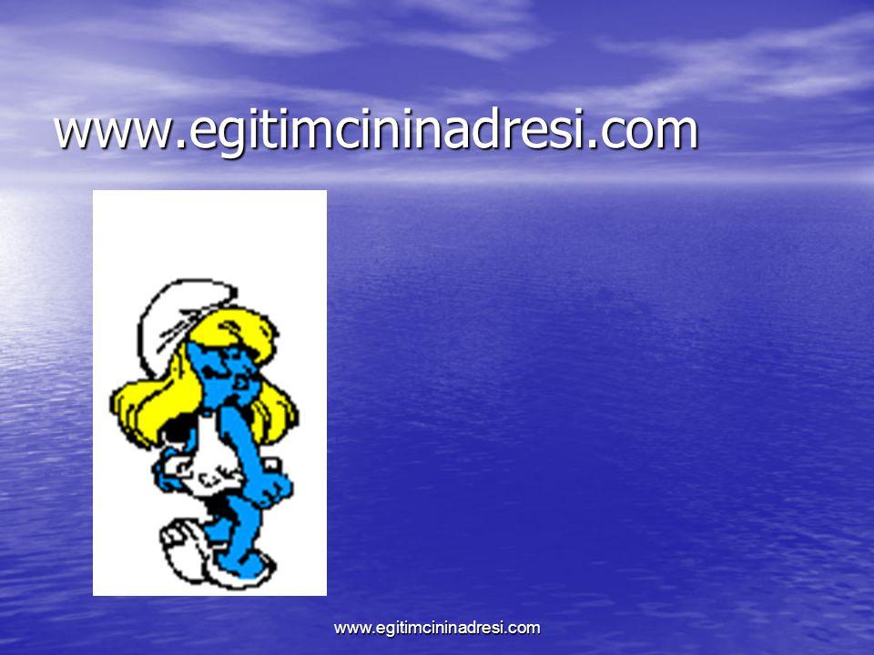 www.egitimcininadresi.com www.egitimcininadresi.com