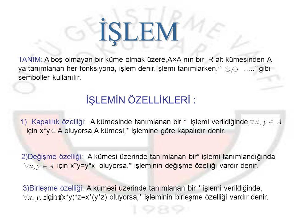 İŞLEM