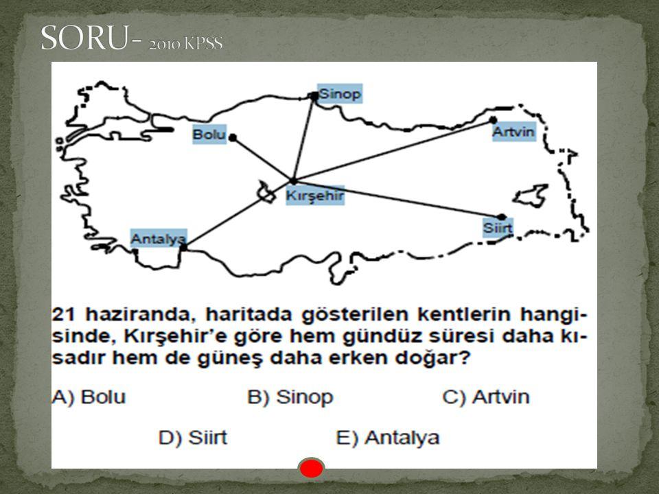 SORU- 2010 KPSS