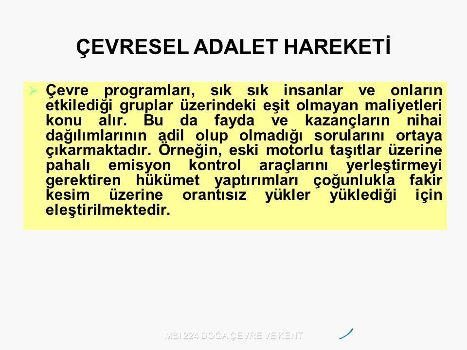 ÇEVRESEL ADALET HAREKETİ