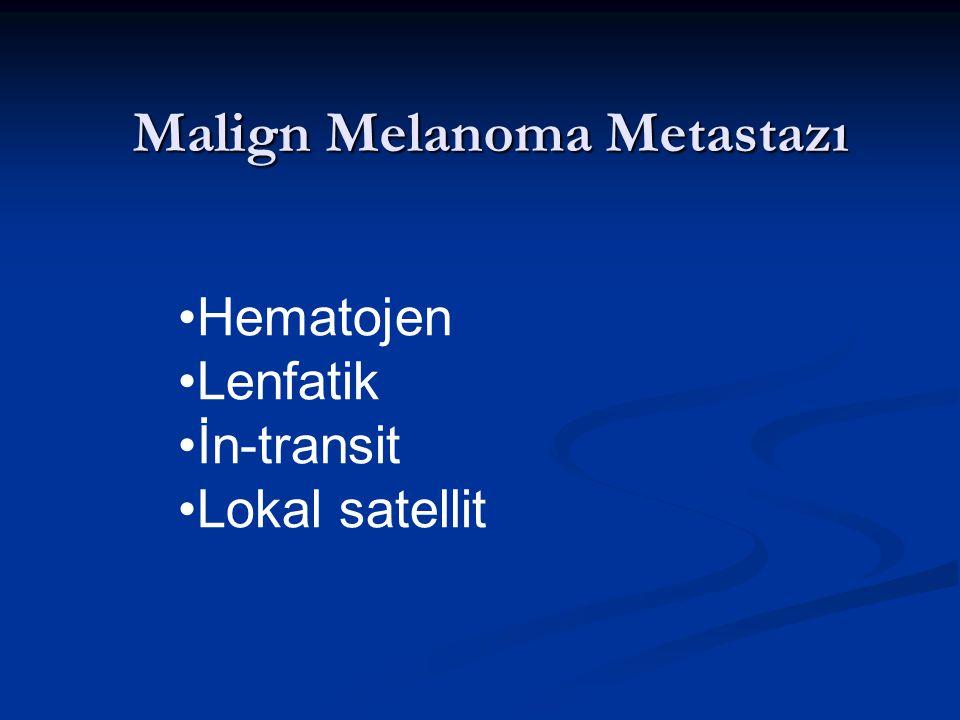 Malign Melanoma Metastazı