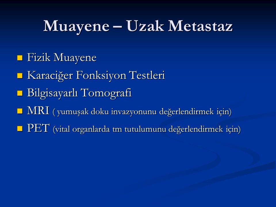 Muayene – Uzak Metastaz