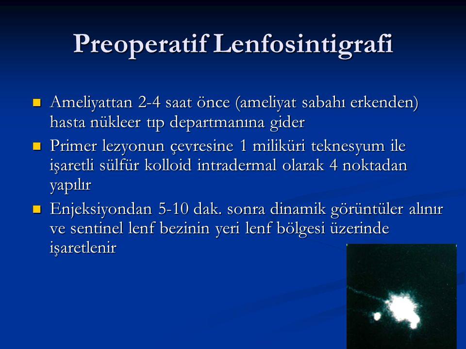 Preoperatif Lenfosintigrafi