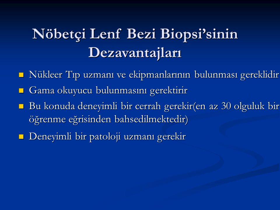 Nöbetçi Lenf Bezi Biopsi'sinin Dezavantajları