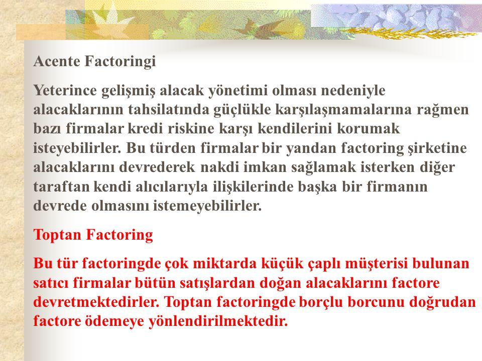 Acente Factoringi