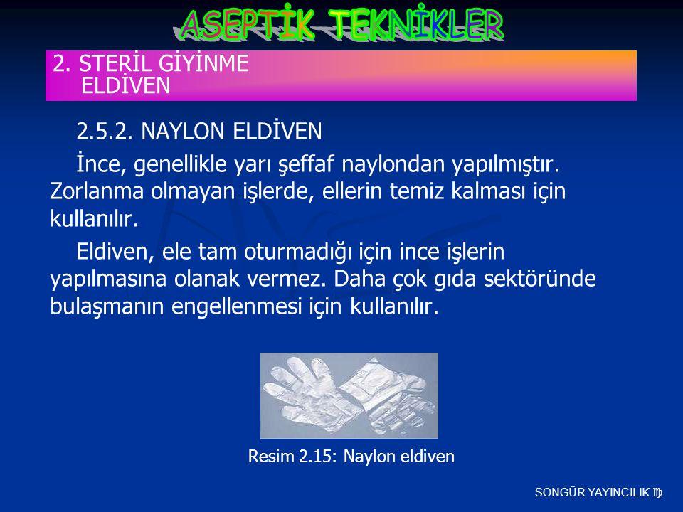 2. STERİL GİYİNME ELDİVEN