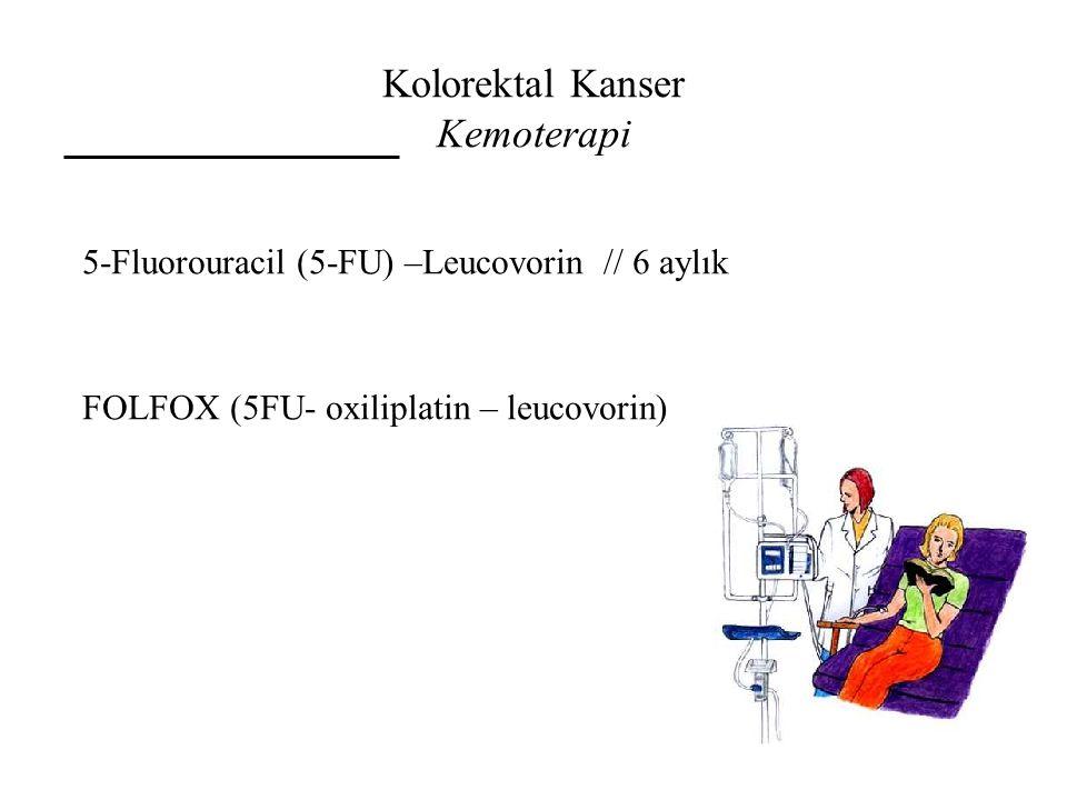 Kolorektal Kanser Kemoterapi
