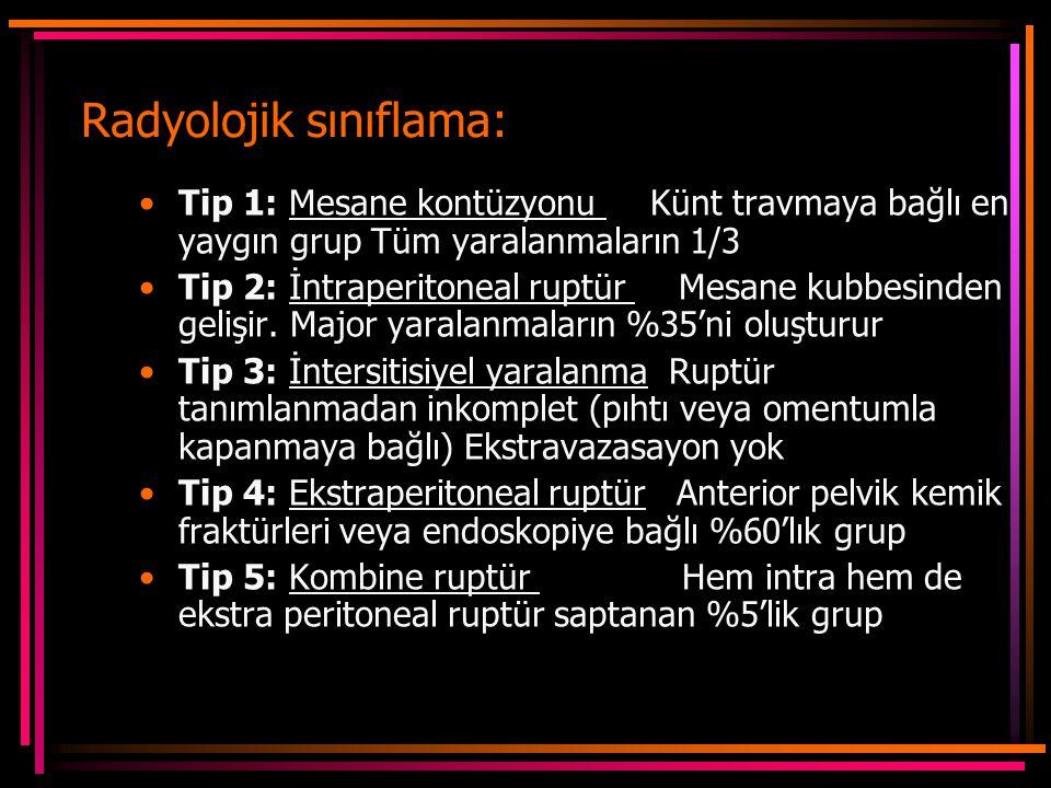 Radyolojik sınıflama: