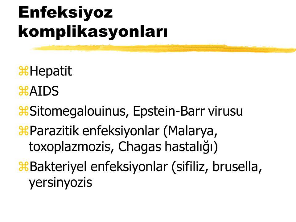 Enfeksiyoz komplikasyonları