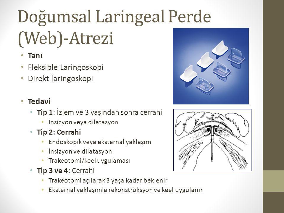Doğumsal Laringeal Perde (Web)-Atrezi