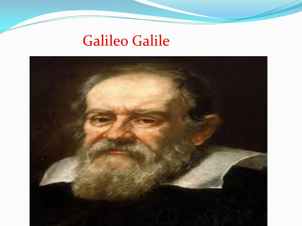 Galileo Galile