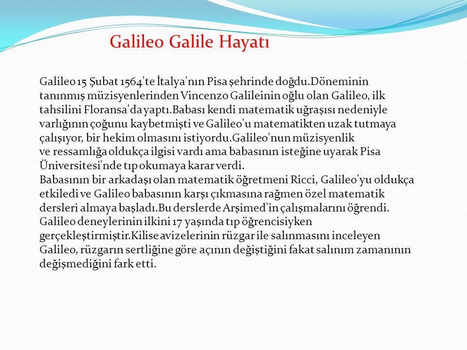 Galileo Galile Hayatı