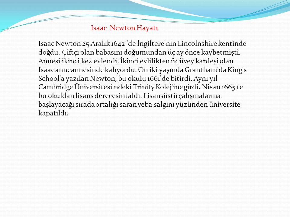 Isaac Newton Hayatı
