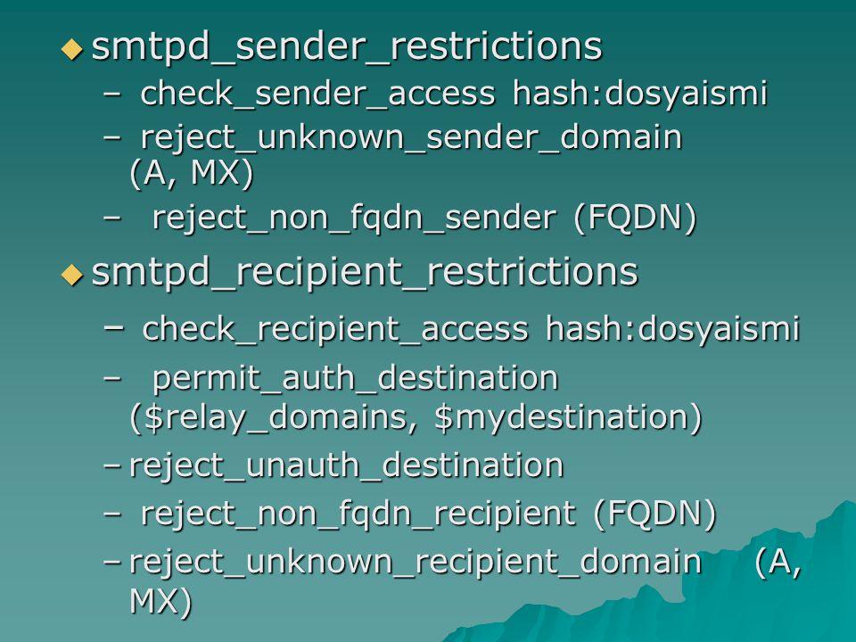 smtpd_sender_restrictions
