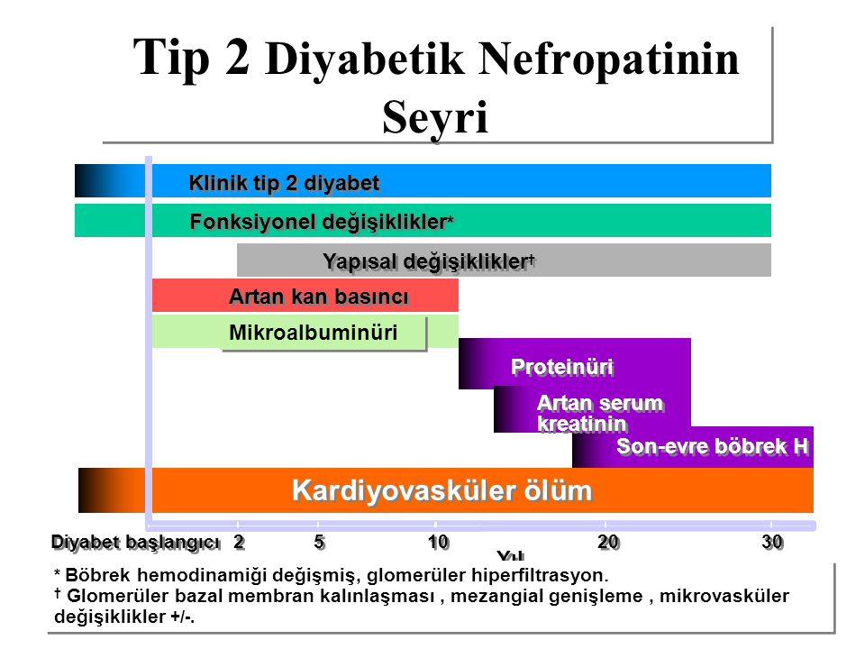 Tip 2 Diyabetik Nefropatinin Seyri