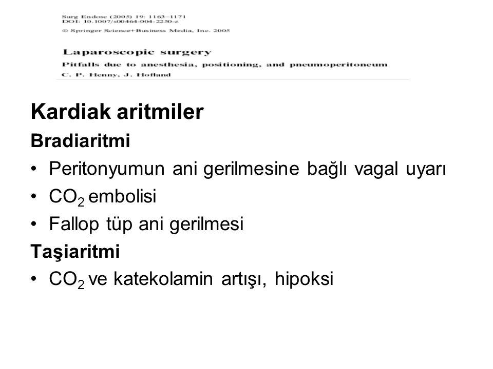 Kardiak aritmiler Bradiaritmi