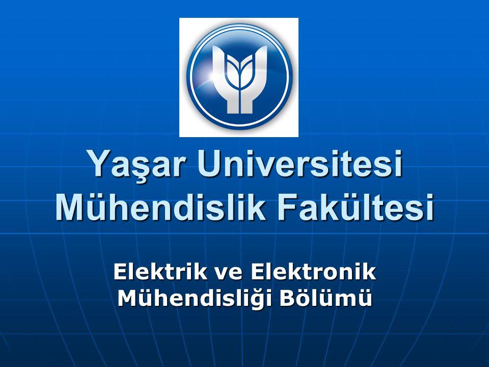 Yaşar Universitesi Mühendislik Fakültesi