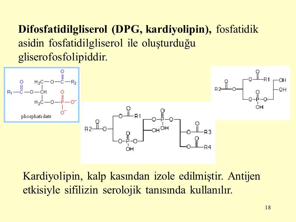 Difosfatidilgliserol (DPG, kardiyolipin), fosfatidik asidin fosfatidilgliserol ile oluşturduğu gliserofosfolipiddir.
