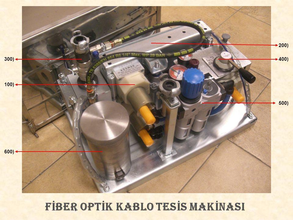 FİBER OPTİK KABLO TESİS MAKİNASI