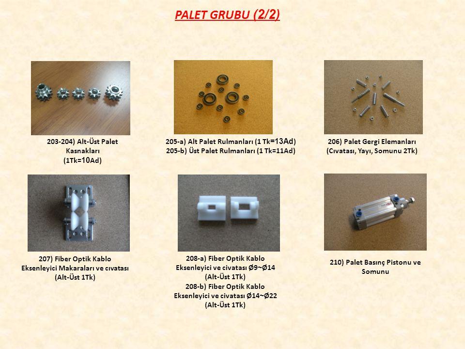PALET GRUBU (2/2) 203-204) Alt-Üst Palet Kasnakları (1Tk=10Ad)