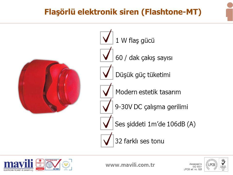 Flaşörlü elektronik siren (Flashtone-MT)