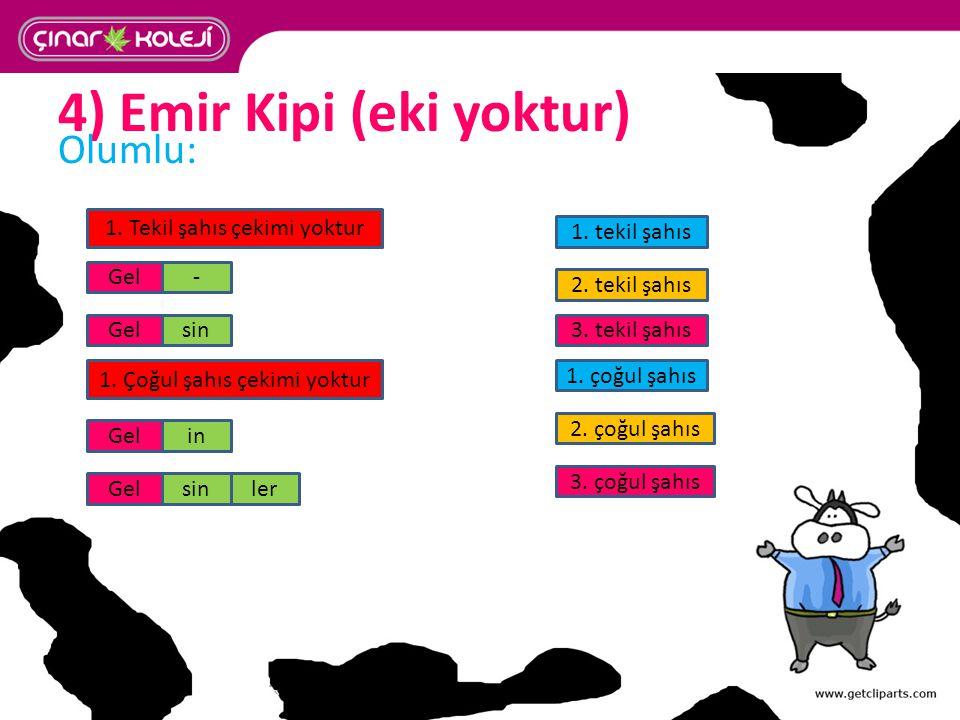 4) Emir Kipi (eki yoktur)