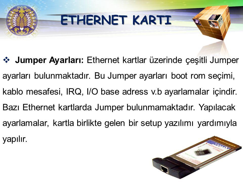 ETHERNET KARTI