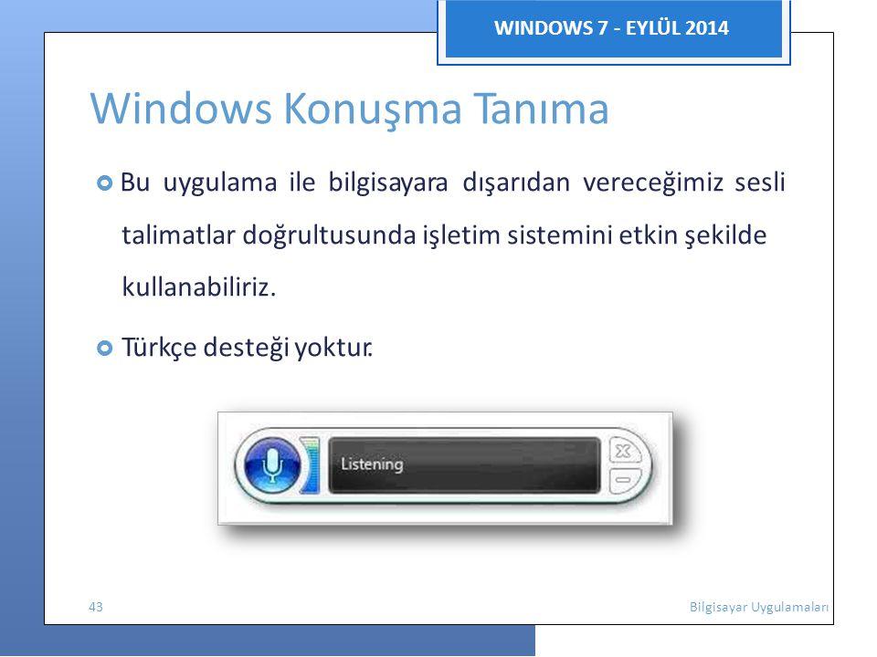 Windows Konuşma Tanıma