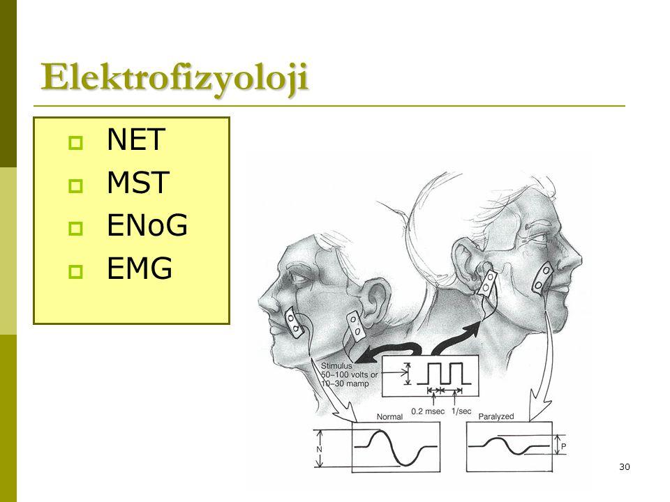 Elektrofizyoloji NET MST ENoG EMG