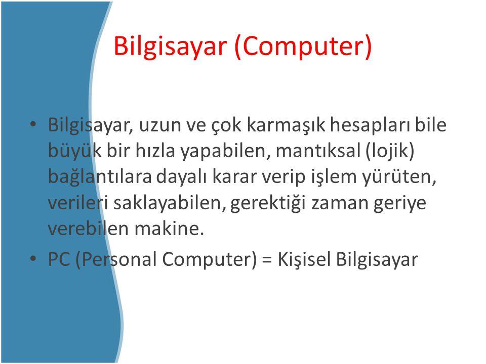 Bilgisayar (Computer)