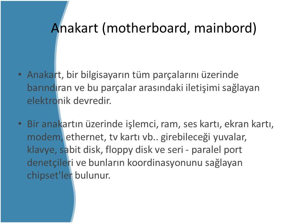 Anakart (motherboard, mainbord)