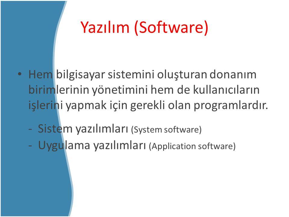 Yazılım (Software)