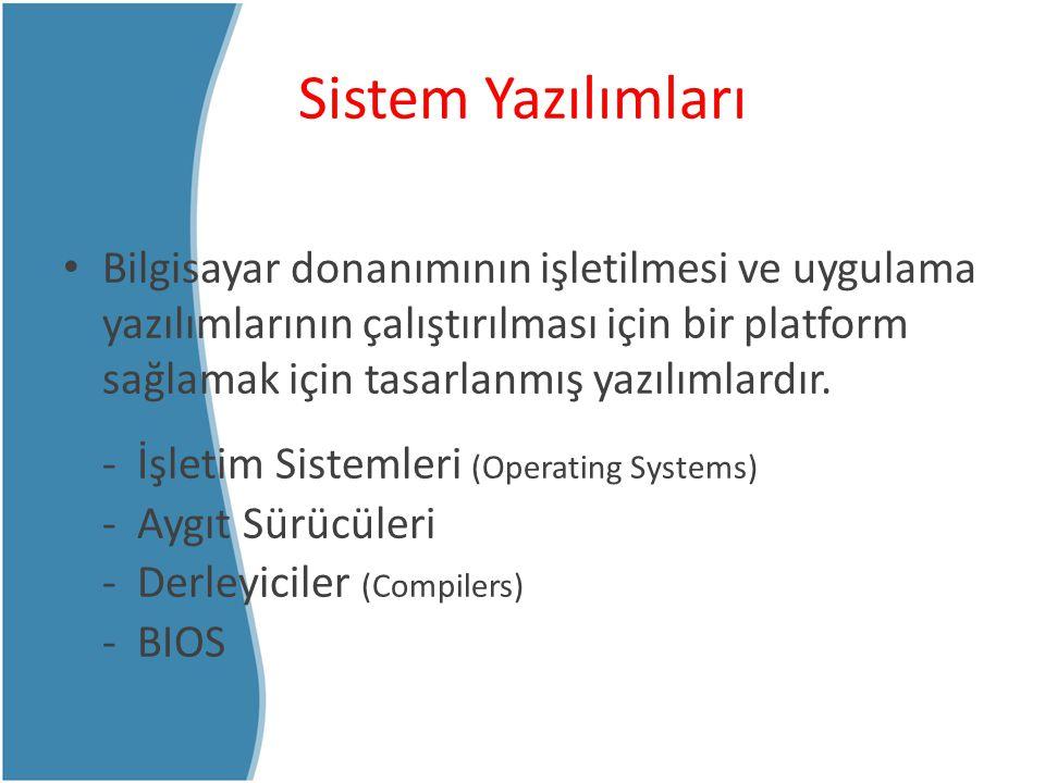 Sistem Yazılımları