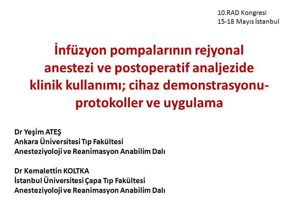 10.RAD Kongresi 15-18 Mayıs İstanbul.