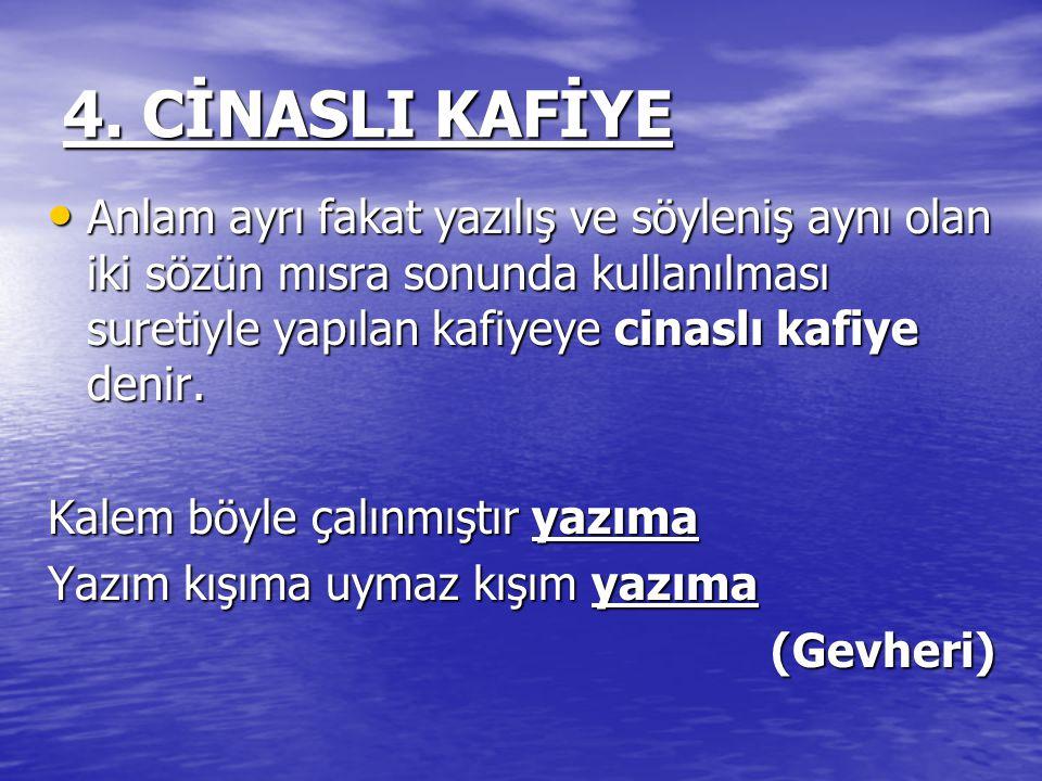4. CİNASLI KAFİYE
