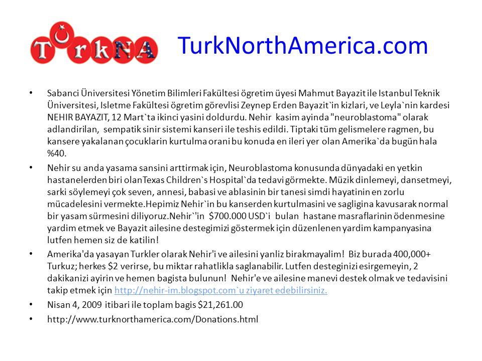 TurkNorthAmerica.com