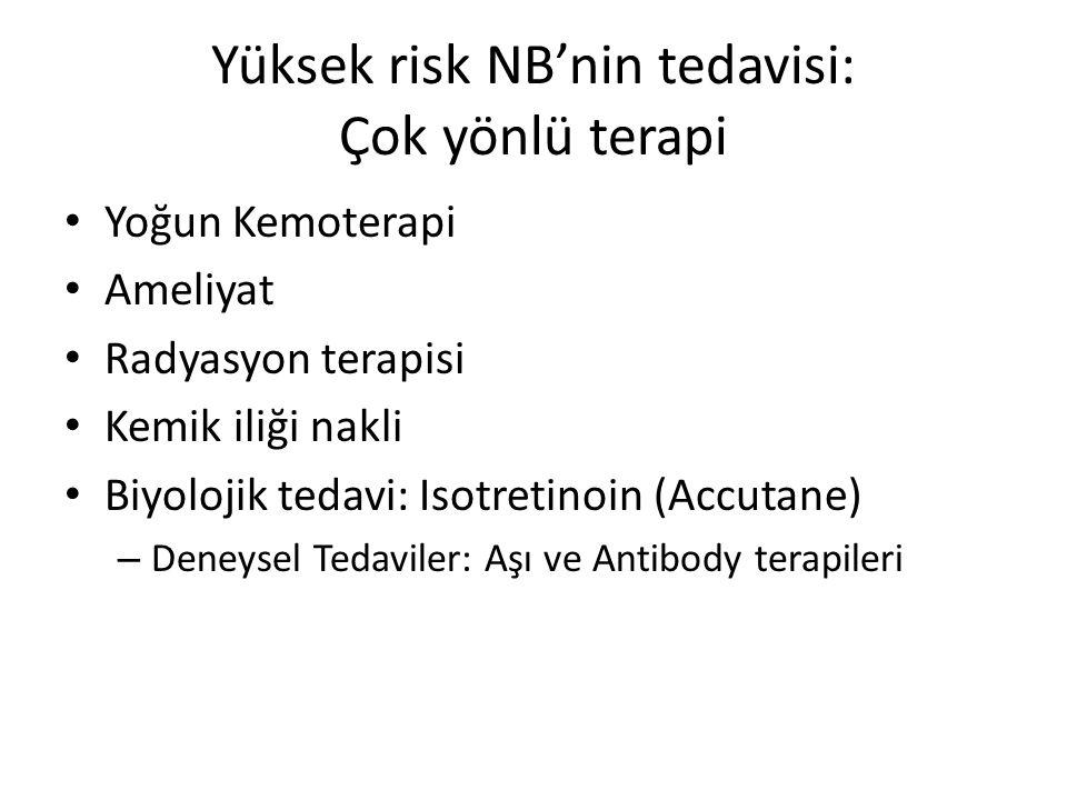 Yüksek risk NB'nin tedavisi: Çok yönlü terapi