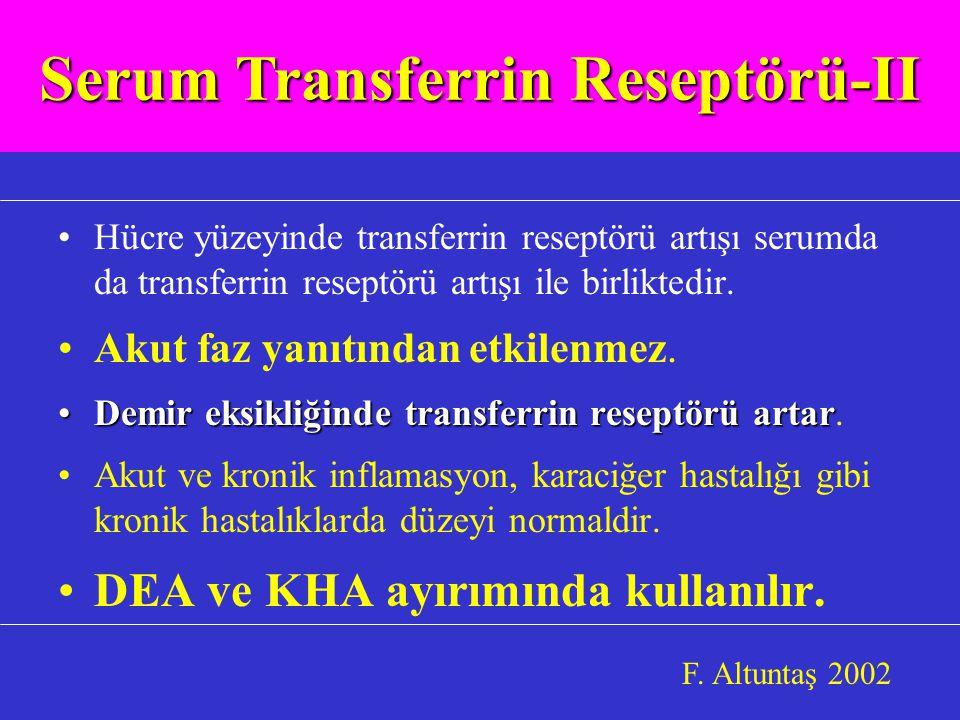 Serum Transferrin Reseptörü-II