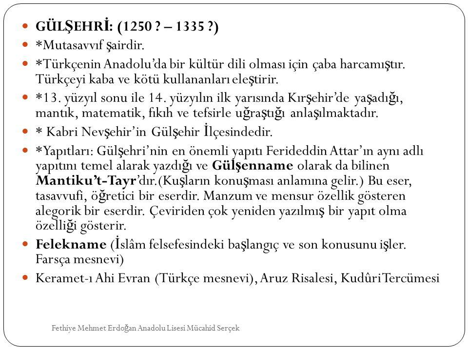 * Kabri Nevşehir'in Gülşehir İlçesindedir.
